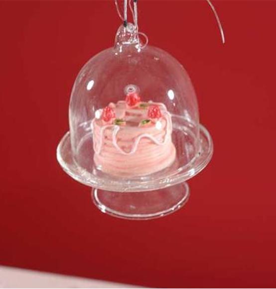 Decorazione alzata in vetro con dolcetti, Scatole Discount ...