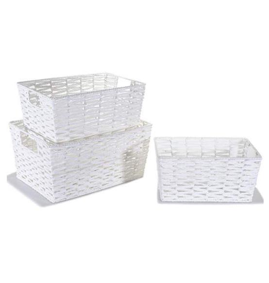 Ceste e cestini in vimini e legno scatole for Ceste in vimini ikea