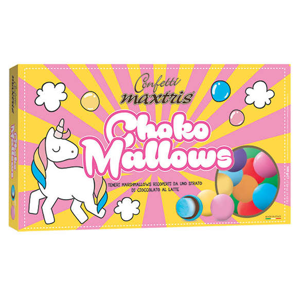 Confetti maxtris party choco mallows 500 Gr