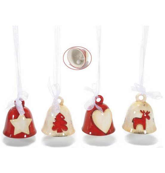 Campanella Di Natale Su Ceramica Jpg Pictures to pin on ...