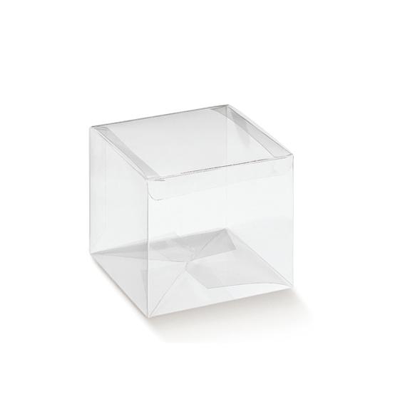 50pz scatola per confetti in pvc acetato tubo medio mm for Scatole in legno ikea