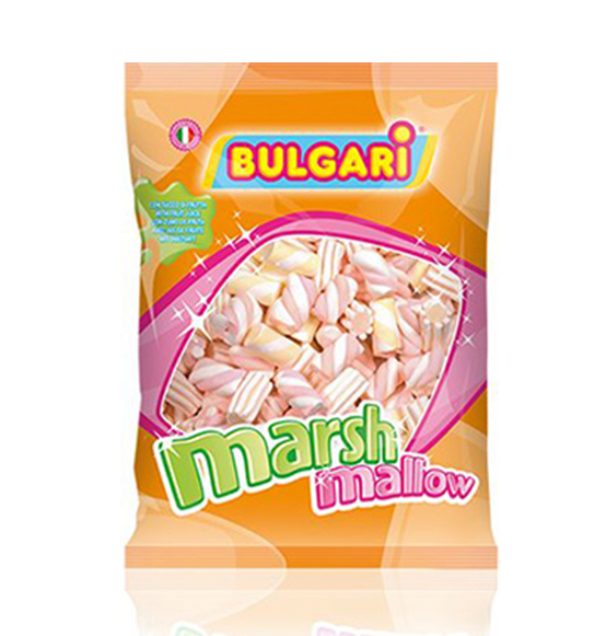 Mix Marshmallows Assortiti con Succhi di Frutta 1 kg. SENZA GLUTINE