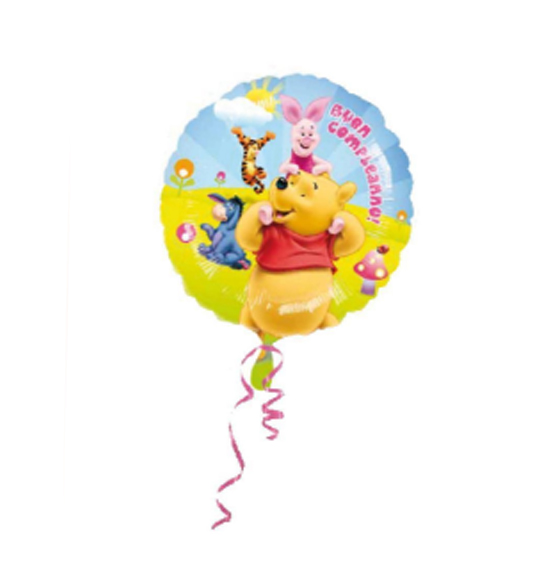PALLONCINO COMPLEANNO W.POOH CM 45