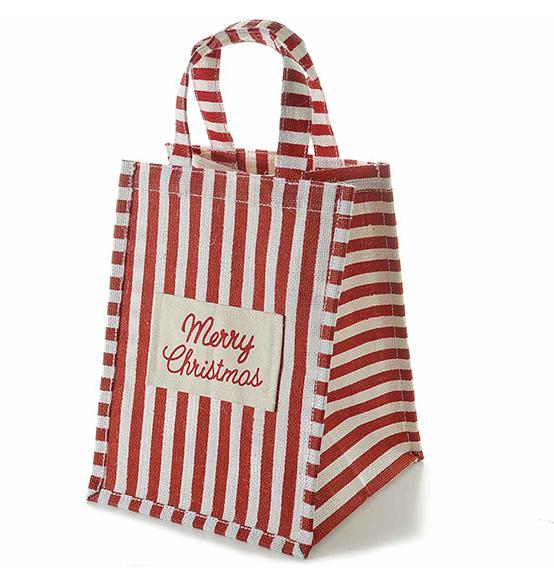 5pz borsa natalizia porta panettone con scritta merry - Scatole porta panettone ...