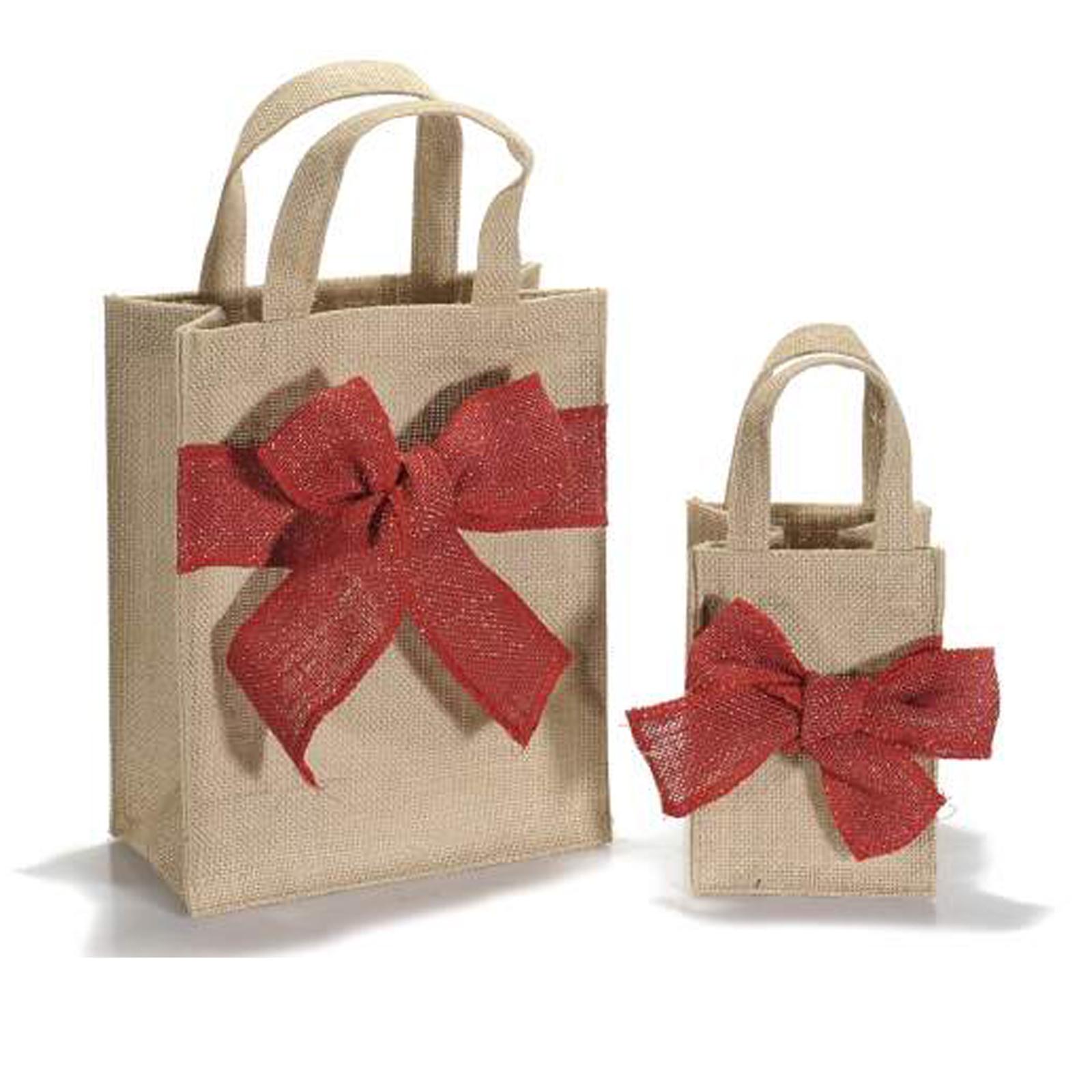 Borse regalo sacchetti e cestini di natale scatole for Scatole per armadi in tessuto