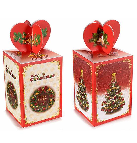 Scatole Per Regali Di Natale.Natale Scatole Discount It Trasparenti In Cartone