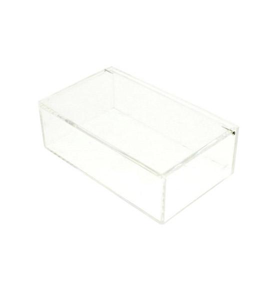 Scatola in plexiglass rigida trasparente mm 160x100x50 for Ikea scatole plastica