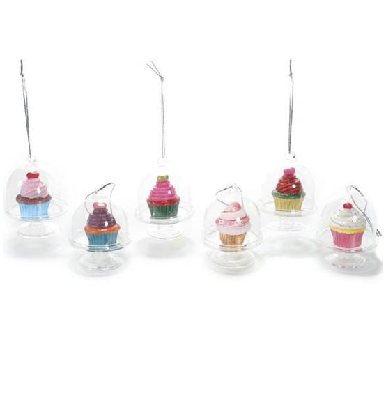 Decorazione Alzata In Vetro Con Cupcake Scatole Discount