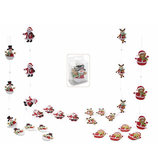 Addobbi e decorazioni per l 39 albero scatole trasparenti in cartone - Nastri decorativi natalizi ...